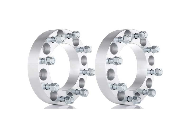 0.6 inch Silver Wheel Spacer 8x6.5