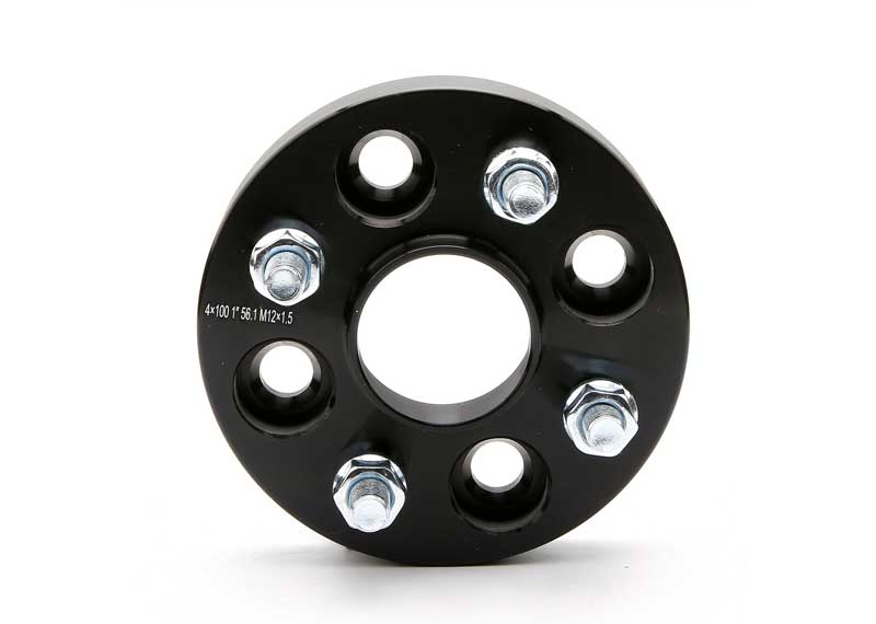 1 inch Black Wheel Spacer 4x100 to 4x100 4Lug