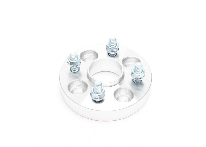 1 inch Silver Wheel Spacer 4x100 to 4x100 4Lug