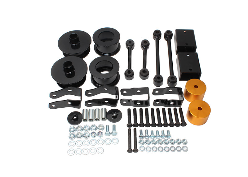 2.5 inch Front and Rear Full Suspension Lift Kit Fit for Jeep Wrangler JL 4WD