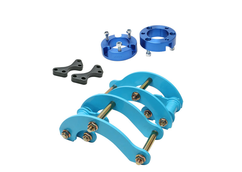 2 inch Front Strut Spacer & Rear Leaf Extended Spring G Shackle Lift Kit Fit Chevrolet Holden Colorado