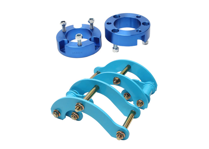 2 inch Front Strut Spacer & Rear Leaf Extended Spring G Shackle Lift Kit Fit Toyota Hilux Vigo