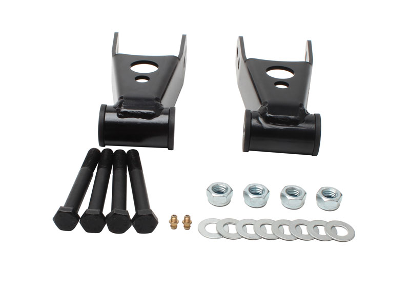 Rear Lowering Kit Drop Shackles for Chevrolet Silverado 1500 2WD 4WD 6 Lug